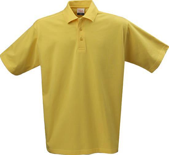 Printer ACTIVE WEAR Herren Polohemd klassisches Kurzarm-Poloshirt Gelb