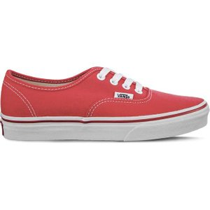 Vans Authentic Sneaker Rot Schuhe