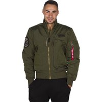 ALPHA INDUSTRIES Engine Herren Jacke Grün