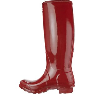 HUNTER Original Tall Damen Gummistiefel Rot Schuhe – Bild 2