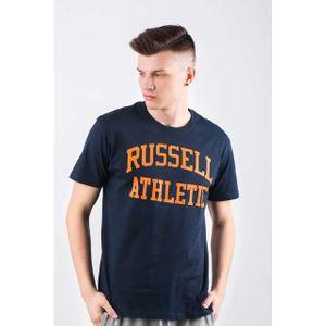 Russell Athletic CrewNeck Herren T-Shirt Blau – Bild 1