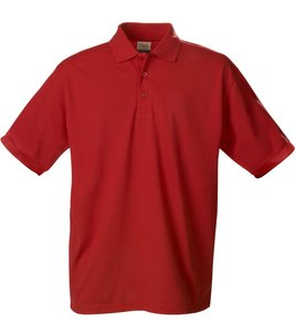 Printer ACTIVE WEAR Poloshirt sommerliches Herren Polohemd Rot
