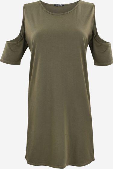 trueprodigy Aspen Damen Kleid Olivgrün