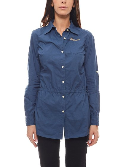 CHIEMSEE chemisier manches longues chemisier coupe longue femme Cleara bleu