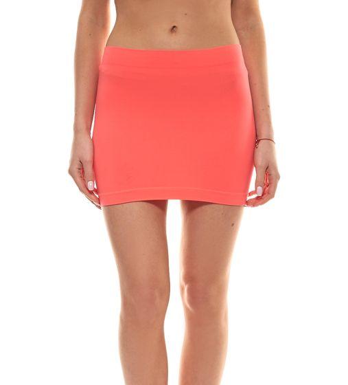 unifit Tube-Rock sommerlicher Damen High Waist Yoga Schlauchrock Rot