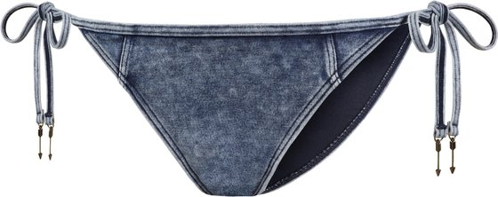SEAFOLLY Jeans Bikini-Höschen Deja Blue romantischer Damen Strand-Slip Blau