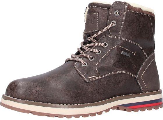 Bama Herren Stiefel Braun Schuhe   O46