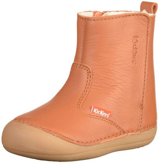 Kickers Kinder Stiefel Braun Schuhe