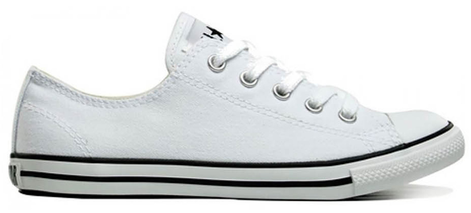 size 40 b10a5 ffe9d Converse Chucks CT AS Dainty OX Women's Sneaker White | Outlet46.de - B2B