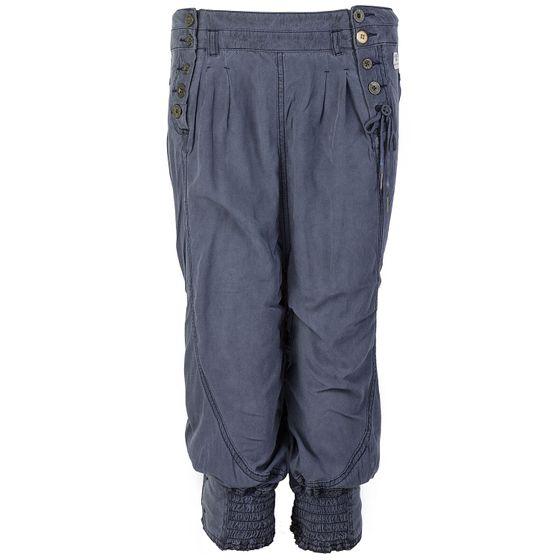 khujo Damen Bermuda Shorts Blau