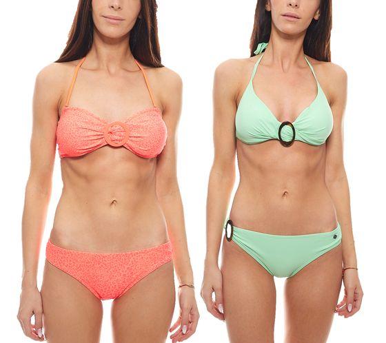 PROTEST Bandeau-Bikini Bikini-Set auffällige Sommer Bademode für Damen