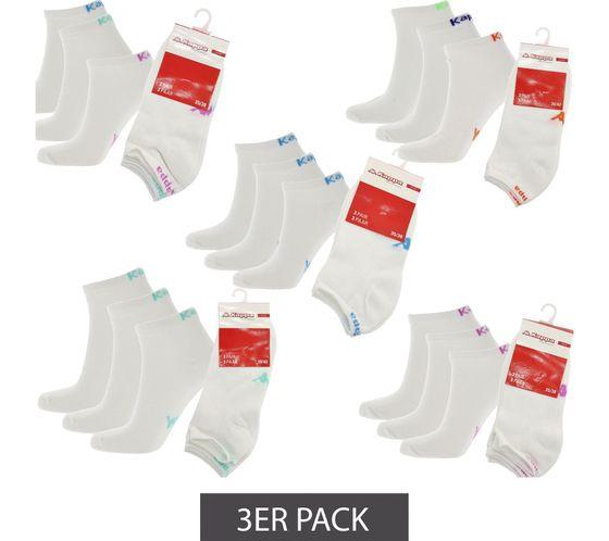 3er Pack Kappa Sneaker-Socken