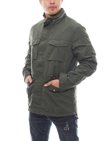 Lager 157 Regenjacke wasserabweisende Herren-Jacke Übergangsjacke Aston Grün