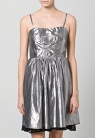 Even&Odd Cocktail Damen Kleid Silber 001