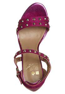 Even&Odd Sandaletten Damen High Heel Fuchsia Schuhe – Bild 6