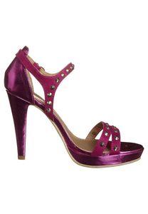 Even&Odd Sandaletten Damen High Heel Fuchsia Schuhe – Bild 5