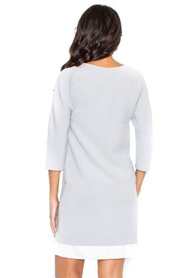 FIGL Damen Kleid Grau