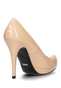 Buffalo Damen Pumps Nude Schuhe – Bild 3