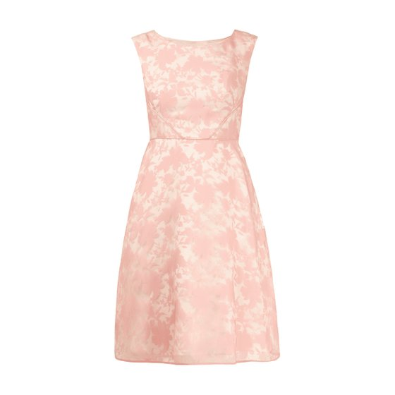 CHRISTIAN BERG floral pattern Womens Cocktail Dress Pink