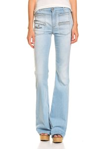 7 FOR ALL MANKIND Damen Jeans Blau