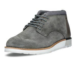 Boxfresh Herren Schnürschuhe Grau Schuhe