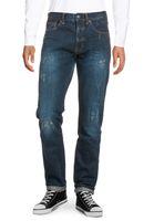 Bench. Monicle-V1 Tapered Herren Jeans Dark Vintage Blue
