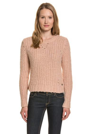 SUPERDRY Knit Damen Pullover Pink
