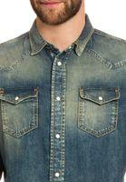 Diesel Jeans Herren Hemd Blau