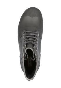 HUNTER Org Rubber Lace Up Herren Schnürschuhe Grau Schuhe – Bild 2