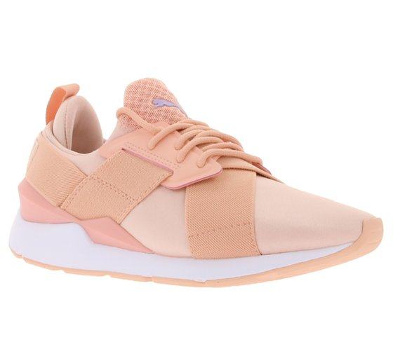 PUMA Shoes Shiny Ladies Sneaker Muse Satin En Pointe Pink