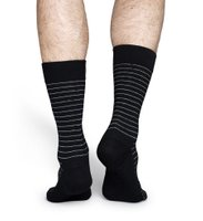 Happy Socks Thin Stripe Socken Schwarz