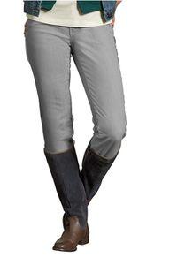Eddie Bauer Five-Pocket-Hose modern geschnittene Damen Jeans Hellgrau – Bild 1