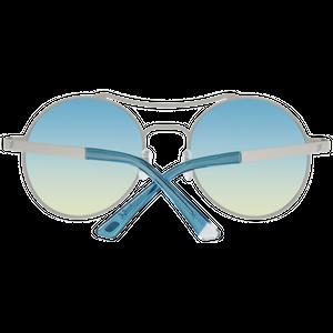 Web Sonnenbrille Damen Gold – Bild 3