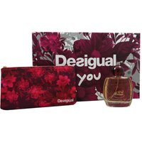 Desigual You Set 100 ml Eau de Toilette EDT & Federmäppchen Tasche Bag Kosmetik