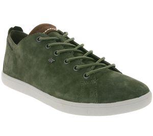 Boxfresh Schuhe schicke Herren Echtleder Sneaker Khaki