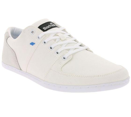 Baskets basses pour hommes à la mode de Boxfresh Shoes Blanc