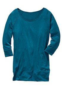 Eddie Bauer Smart Damen Langarm Shirt Blau