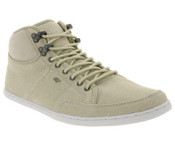 Boxfresh Shoes Modern Mens High Top Sneaker Beige