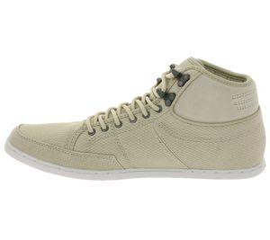 Boxfresh Schuhe moderne Herren High-Top Sneaker Beige – Bild 2