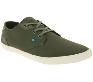 Boxfresh Schuhe ikonischer Herren Low Top Sneaker Khaki