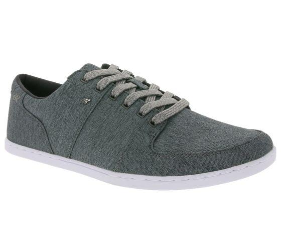Boxfresh Schuhe trendiger Herren Low Top Sneaker Grau