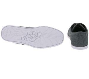 Boxfresh Schuhe trendiger Herren Low Top Sneaker Grau – Bild 3