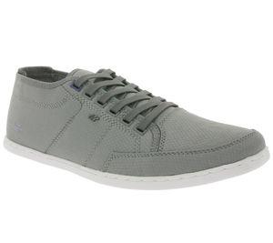 Boxfresh Schuhe glatte Herren Low-Top Sneaker Sparko Grau