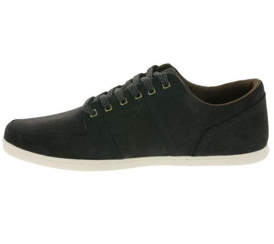 Boxfresh Shoes Modern Mens Real Leather Low Top Sneaker Brown