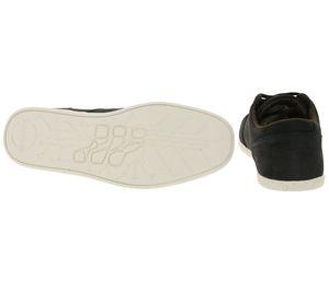 Boxfresh Schuhe robuster Herren Echtleder Sneaker Low Top Schwarz – Bild 3