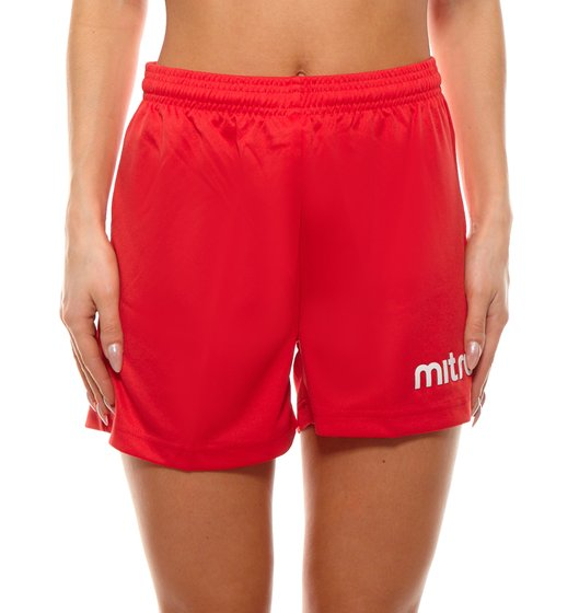miter sport shorts sweat-wicking ladies pants fitness shorts red