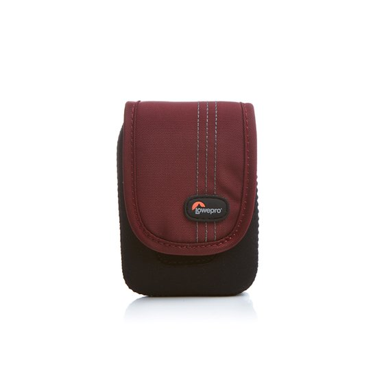 Lowepro Camera Pouch Compact Case for Electronics Dublin 10 Black  Red