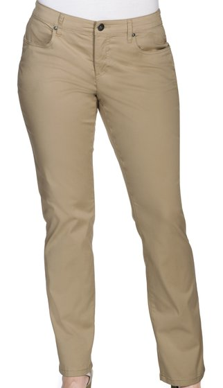 [Bundle] sheego airy 78 womens stretch pants Basic look Large sizes Beige