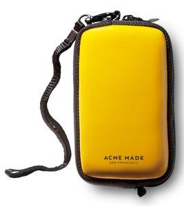 ACME MADE Hard Case coole Kamera-Tasche mit abnehmbarer Handschlaufe CMZ Pouch Gelb