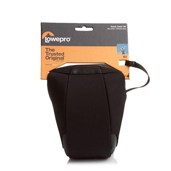 Lowepro Kamera-Tasche schlicht gehaltene Messenger-Bag Quick Case 120 Schwarz